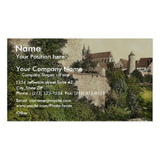 Straft Tower, Rothenburg (i.e. ob der Tauber), Bav Business Cards