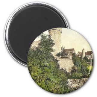 Straft Tower, Rothenburg (i.e. ob der Tauber), Bav Fridge Magnets