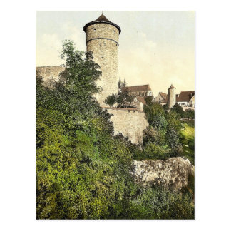 Straft Tower, Rothenburg (i.e. ob der Tauber), Bav Postcard