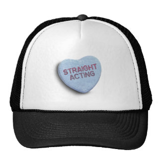 STRAIGHT ACTING CANDY -.png Trucker Hat