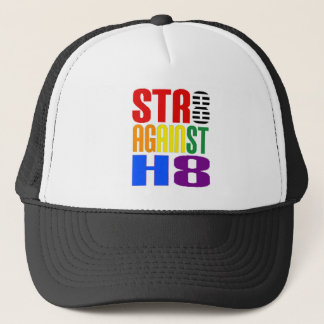 Straight Against Hate LGBT Ally Trucker Hat
