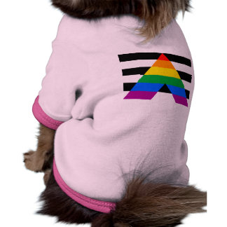 Straight Ally Flag Pet Clothes