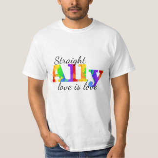Straight Ally Marriage Equality T-Shirt