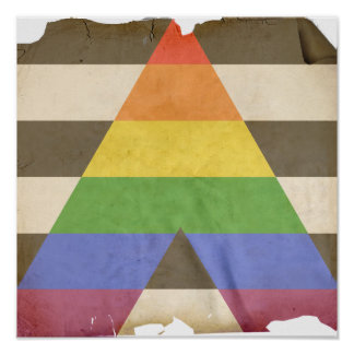 STRAIGHT ALLY POSTER
