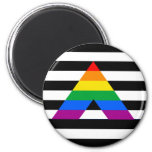 Straight Ally Pride Magnet