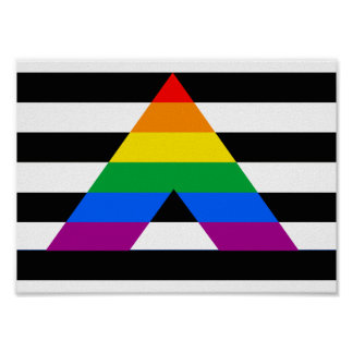 Straight Ally Pride Poster