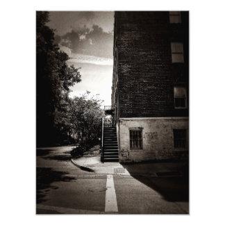 Straight And Narrow Photographic Print