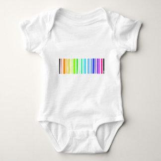 Straight Barcode Baby Bodysuit