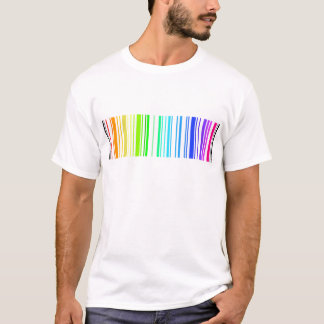 Straight Barcode T-Shirt