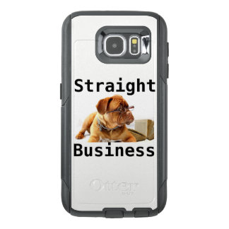 Straight Business Cell Phone Case