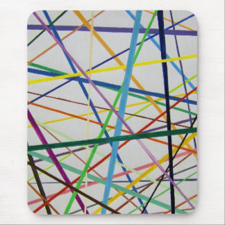 Straight but Colorful Mouse Mat