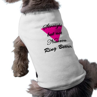 straight but not narrow sleeveless dog shirt