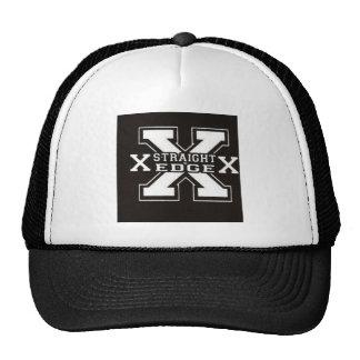 straight edge cap