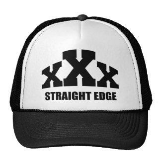 Straight Edge Trucker Hat