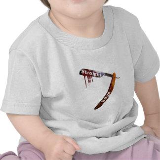 Straight Edge Straight Razor T-shirts