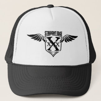 Straight Edge Wings Trucker Hat