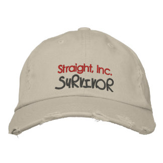 Straight, Inc. Survivor Embroidered Hats