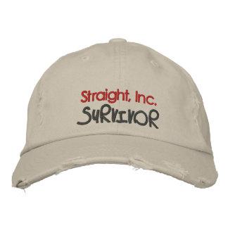 Straight, Inc. Survivor Embroidered Cap