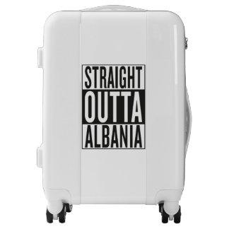 straight outta Albania Luggage