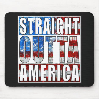 Straight Outta America Mouse Pad
