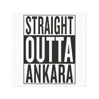 straight outta Ankara Gallery Wrapped Canvas