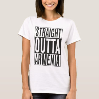 straight outta Armenia T-Shirt
