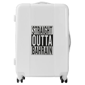 straight outta Bahrain Luggage