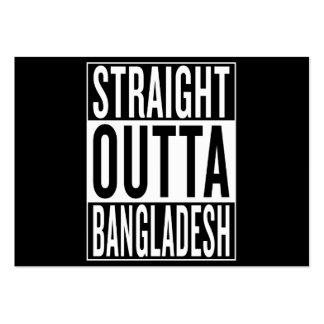 straight outta Bangladesh Pack Of Chubby Business Cards