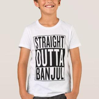 straight outta Banjul T-shirts