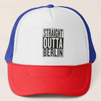 straight outta Berlin Trucker Hat