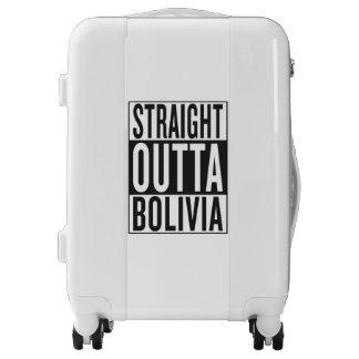straight outta Bolivia Luggage