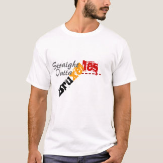 Straight outta Bruxelles Brusells T-shirt