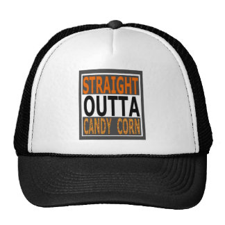 Straight Outta Candy Corn Funny Halloween Cap