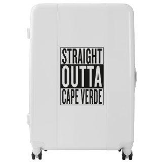 straight outta Cape Verde Luggage