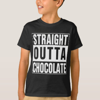 Straight Outta Chocolate Tees