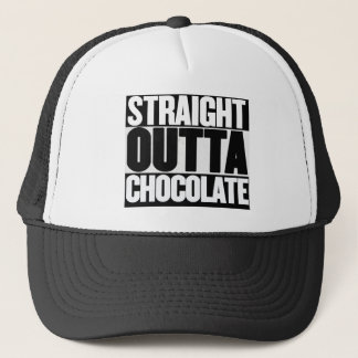 Straight Outta Chocolate Trucker Hat