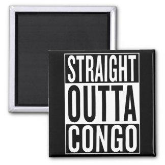 straight outta Congo Square Magnet