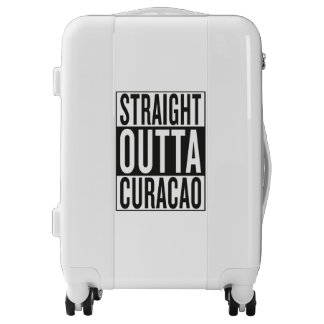 straight outta Curacao Luggage