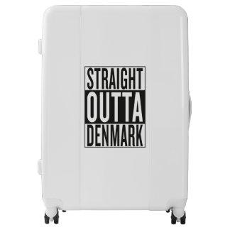 straight outta Denmark Luggage