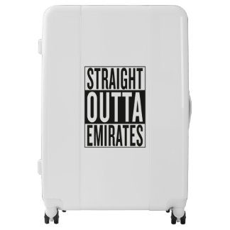 straight outta Emirates Luggage