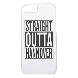 straight outta Hannover iPhone 7 Case