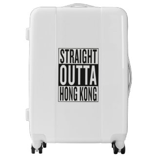 straight outta Hong Kong Luggage