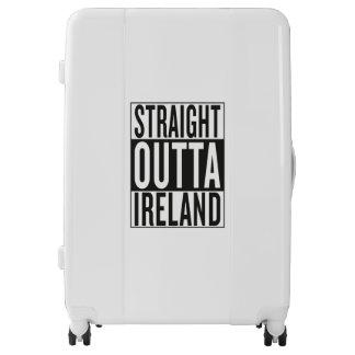 straight outta Ireland Luggage