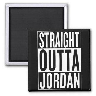 straight outta Jordan Square Magnet