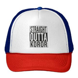 straight outta Koror Cap