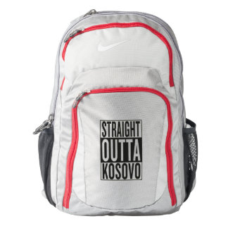 straight outta Kosovo Backpack