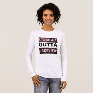 Straight Outta Lakeview New Orleans 70124 Bella Long Sleeve T-Shirt