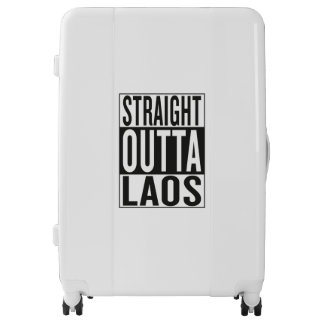 straight outta Laos Luggage