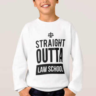 Straight Outta Law School Funny T Shirt