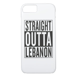 straight outta Lebanon iPhone 7 Case
